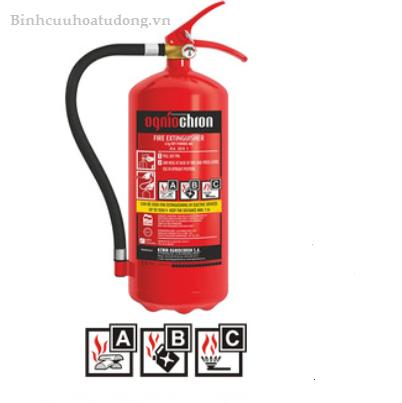 Bình bột chữa cháy ABC 6kg xuất xứ Đức