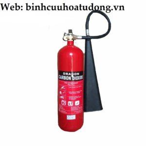 Bình chữa cháy khí CO2 thương hiệu Dragon